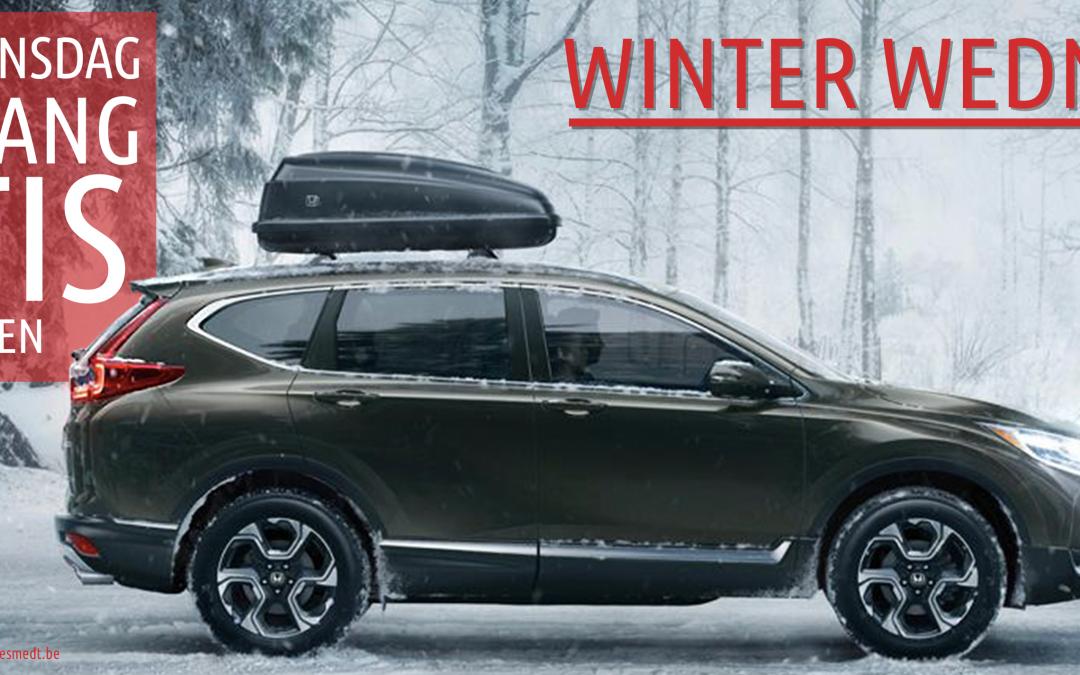 Honda Winter Wednesday Actie = GRATIS ORIGINELE SET WINTERBANDEN