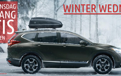 Honda Winter Wednesday Actie = GRATIS ORIGINELE SET WINTERBANDEN