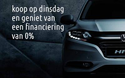 Autolening 0% bij aankoop HONDA