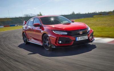 Honda Civic Type R – Auto van het jaar 2017 volgens TopGear Magazine
