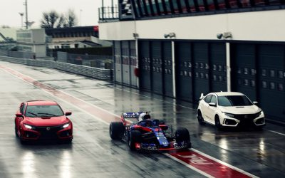 Civic Type R gekozen door Red Bull Formule 1 coureurs