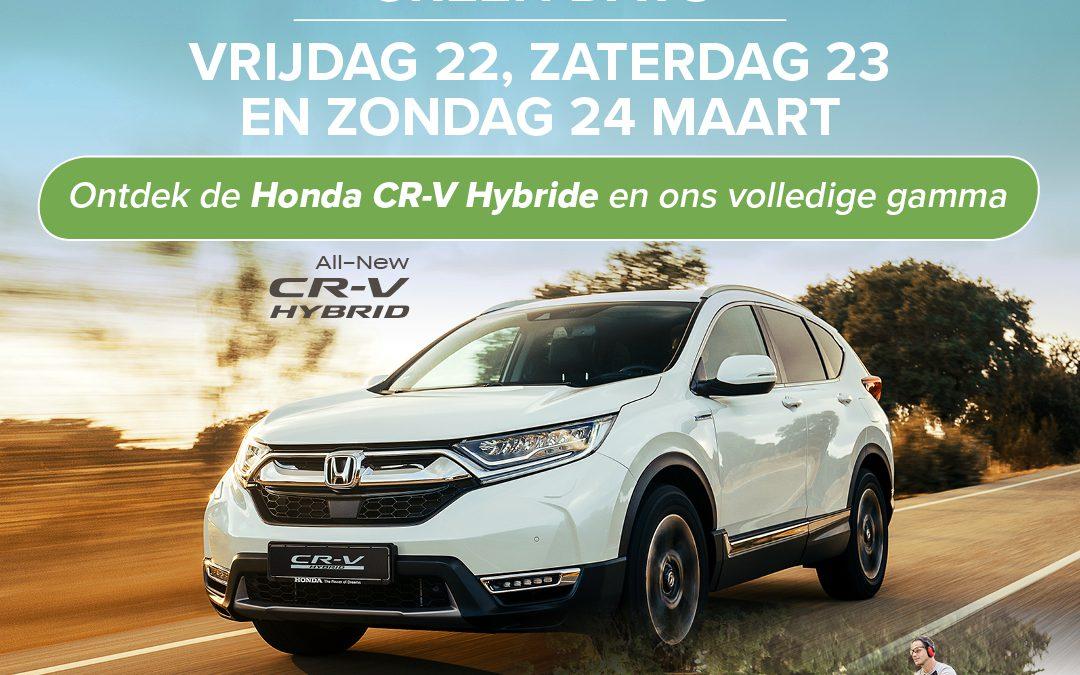 Honda Green Days bij Van Wiemeersch