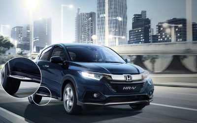 De Honda HR-V Running Boards