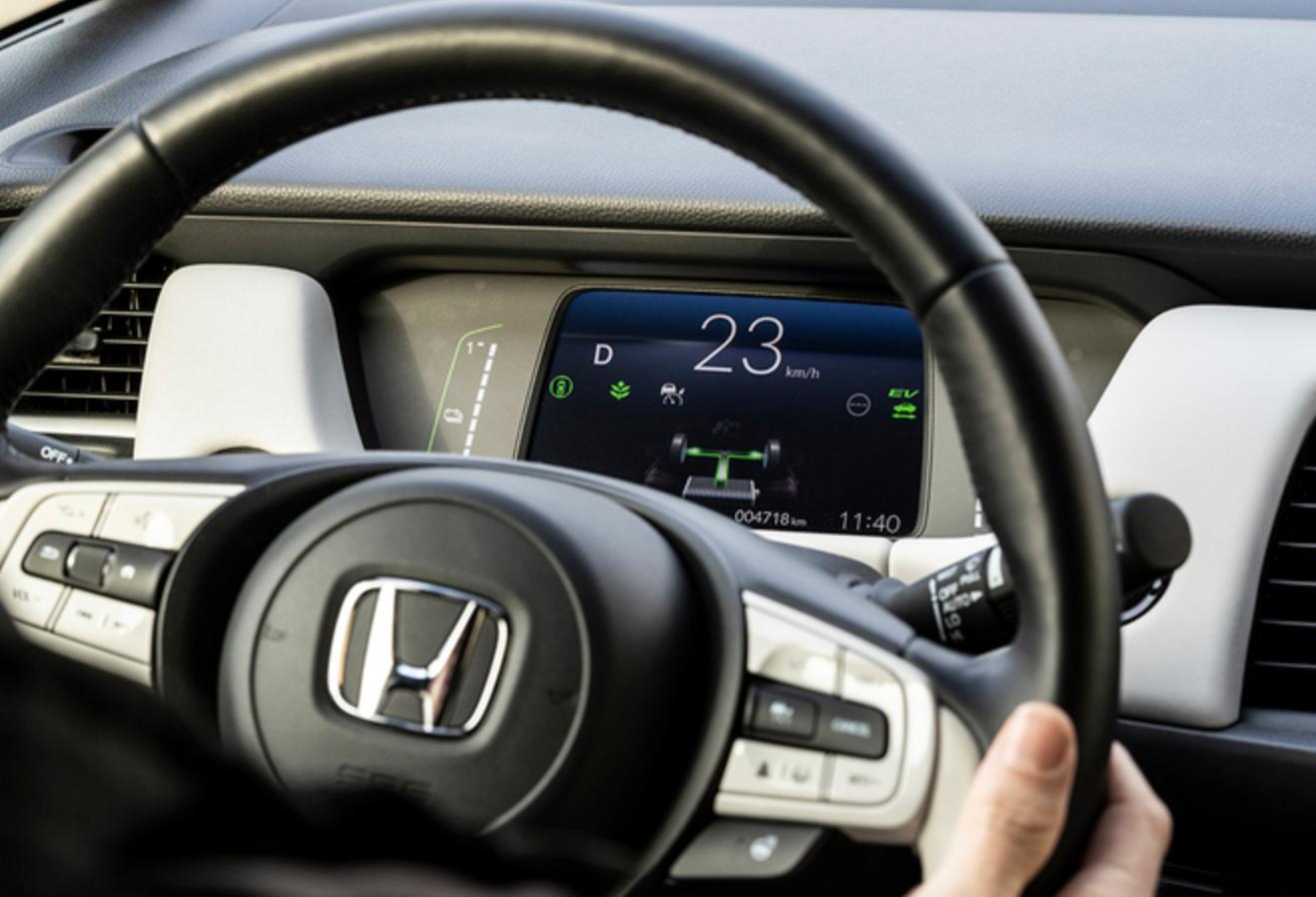 Hybride auto Honda Jazz