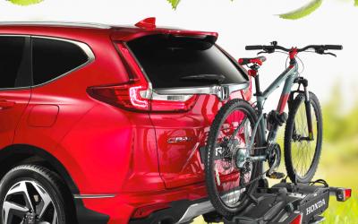 Uw fiets meenemen met de Honda Thule Fietsendrager
