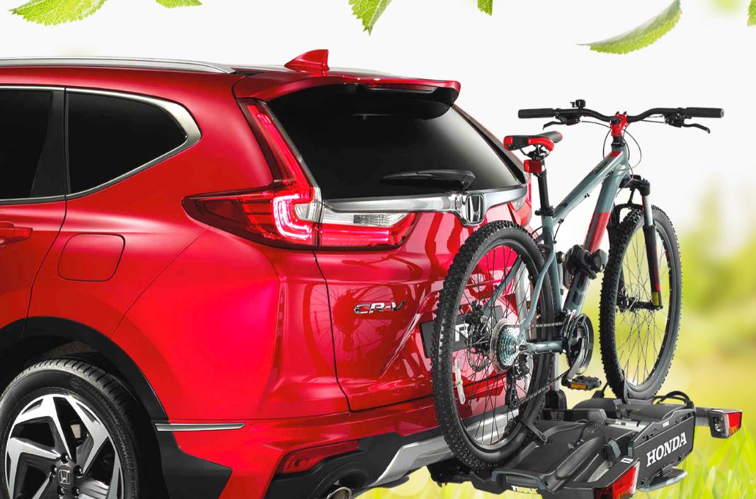 Honda Tule fietsendrager en afneembare trekhaaks